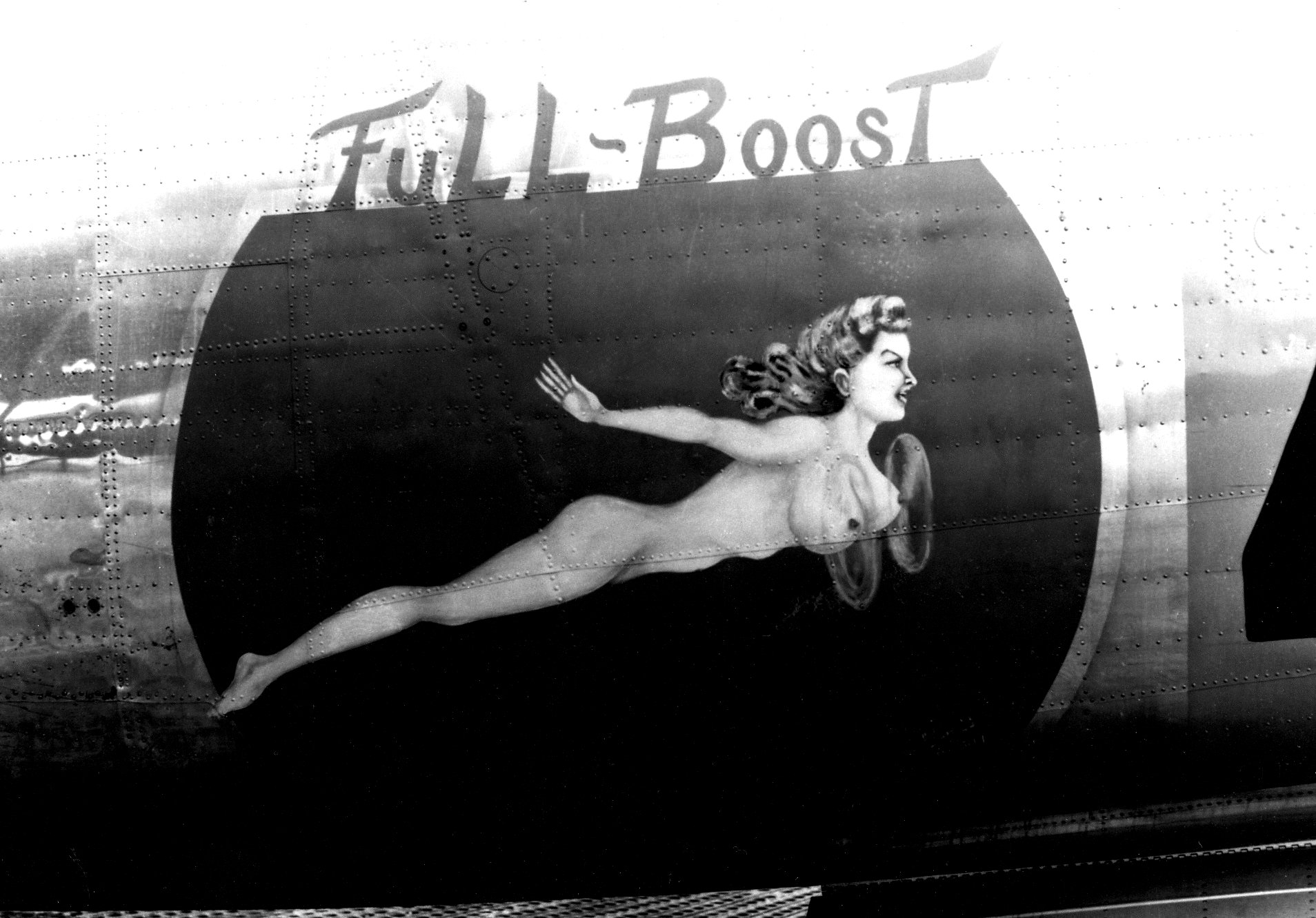 B 24 Liberator Nose Art Full Boost