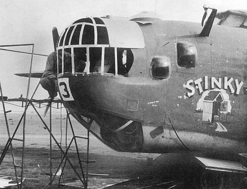 B 24 Liberator Nose Art 764th Nose art